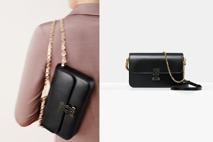 Cartier 推出全新 Double C de Cartier 肩揹包!為造型帶來滿滿的高級感