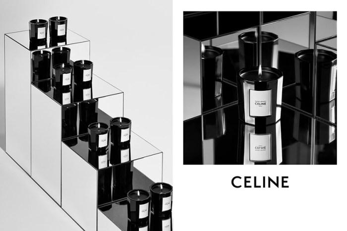 極簡生活的極致:CELINE 推出首個蠟燭系列,美到令人屏息!
