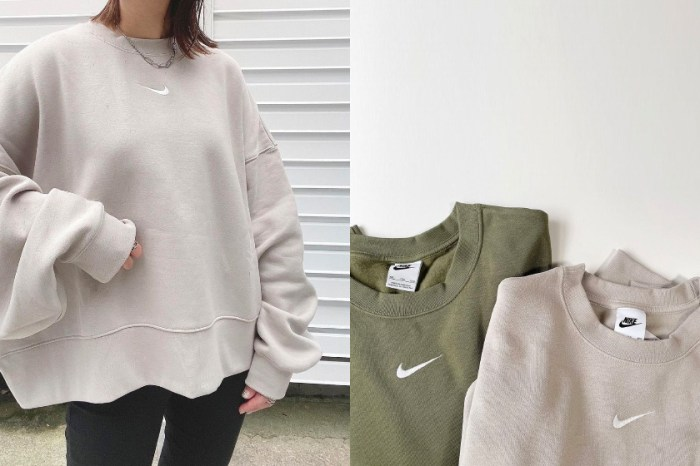 想買靠運氣:Nike 全新短版衛衣,直落入秋清單 No.1!