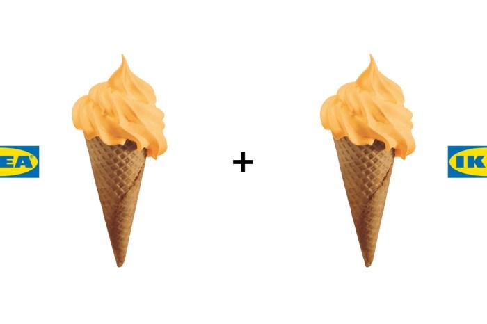 IKEA 超限時:螞蟻人愛的哈密瓜新口味,NT$20 就能吃 2 支霜淇淋!