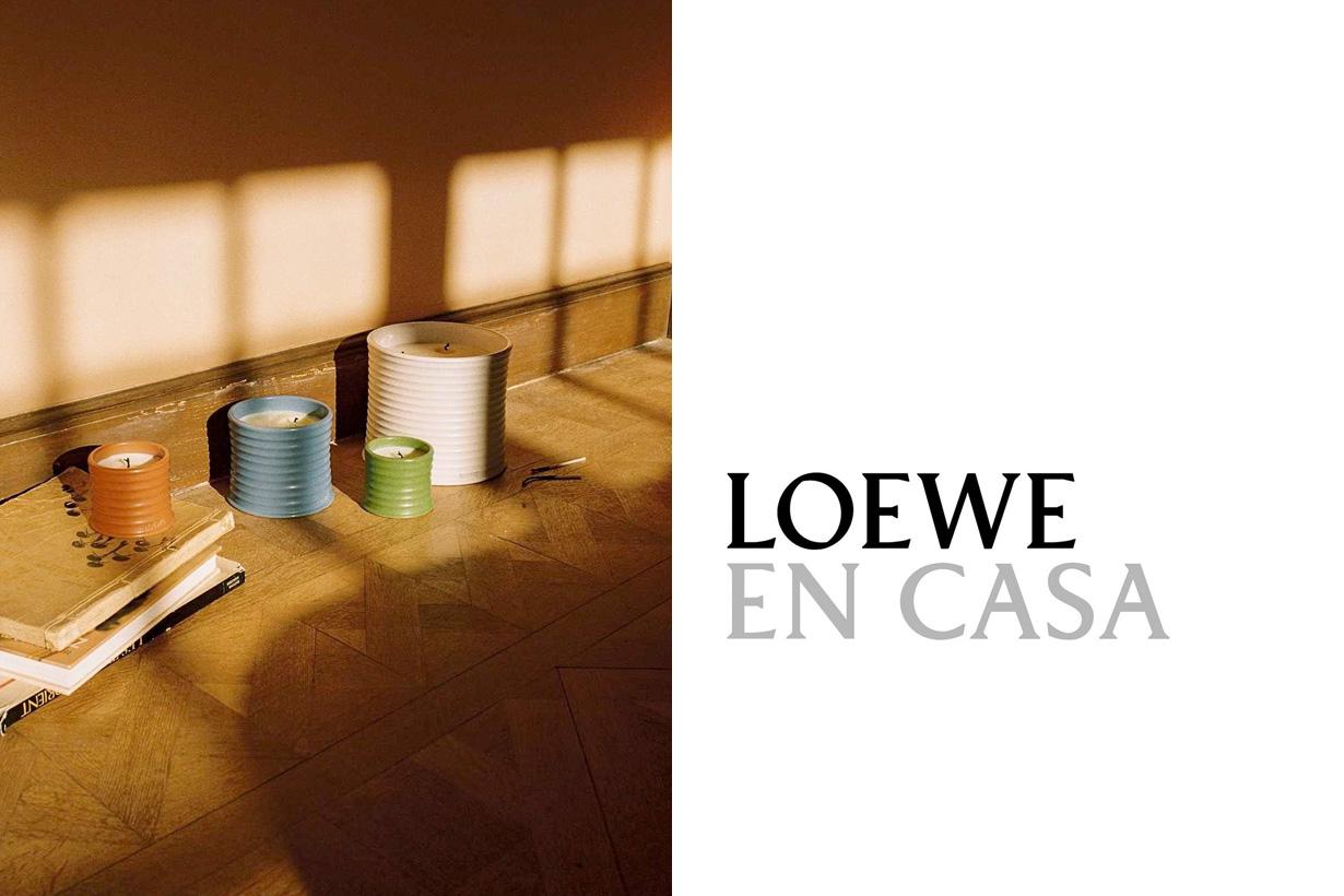 loewe case storage case leather vanity essential