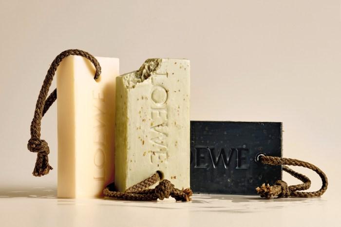 Loewe 全新香皂系列:樸實無華的外觀,卻勾人怦然心動!
