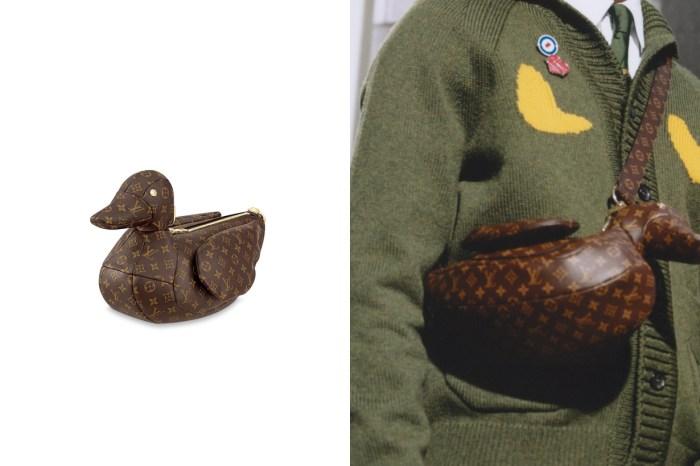 近一點看 Louis Vuitton x Nigo 鴨子手袋,網上流傳售價落在… ?