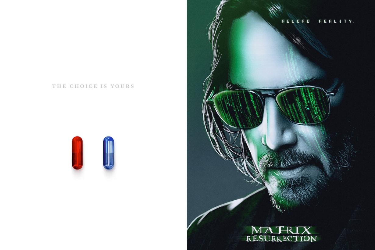 The Matrix Resurrections trailer release 2021 december
