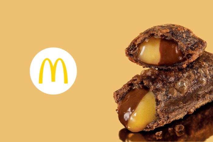 終於敲碗來台,McDonald's 香蕉巧克力「雙餡」派限時快閃一個月!