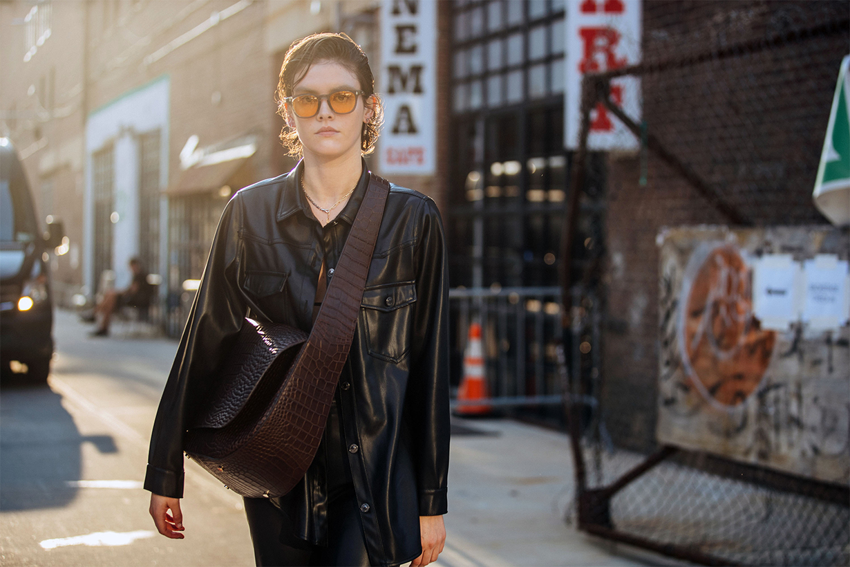 New York fashion week SS22 street snaps outfits