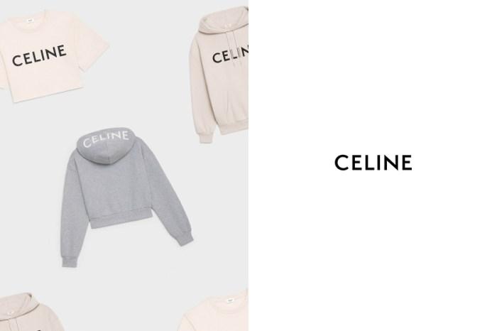 別再手袋!CELINE 秋冬膠囊系列:短版上衣、連帽衫,該搶哪一款?