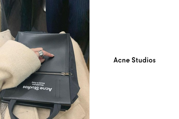 IG 曝光度攀升:Acne Studios 極簡托特包,時髦女生新目標!