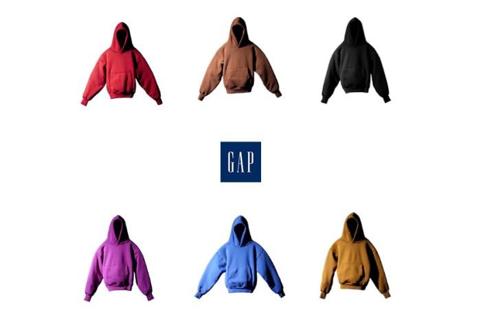 正式登場:YEEZY Gap 6 色連帽衫,極簡落肩設計迫不及待囤色!