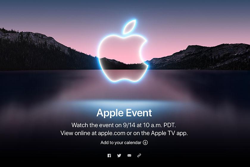 apple fall event california iphone 13 airpods 3 watch 7 macbook pro ios 15 announcement date