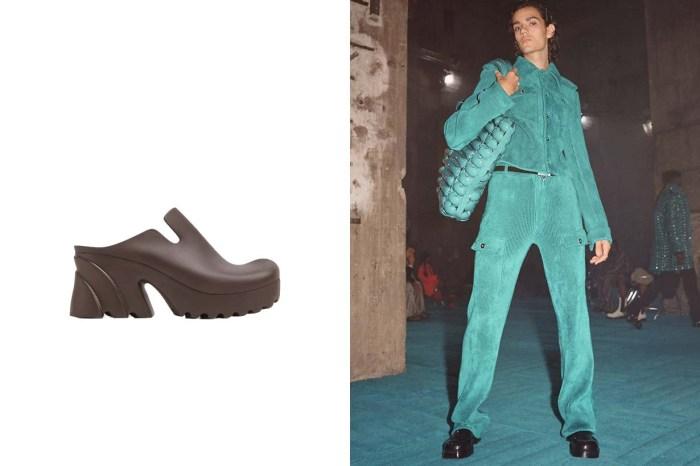 Bottega Veneta 推出的 Rubber Flash,絕對會是今年大熱的醜鞋之選