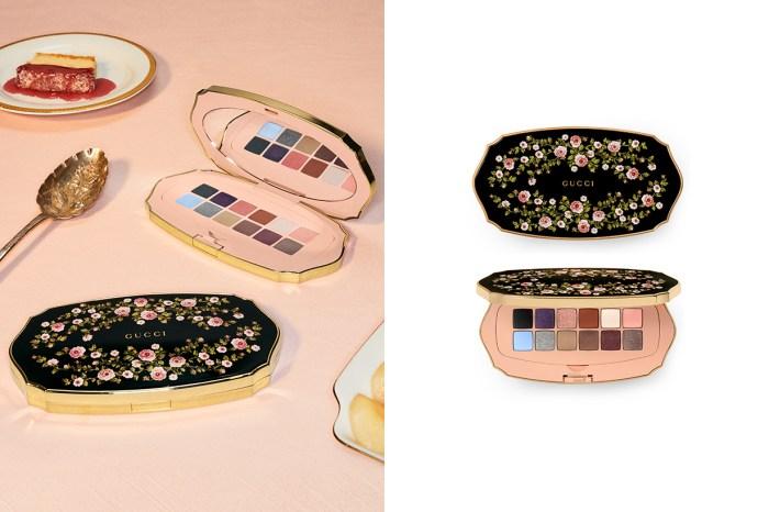 Gucci Beauty 推出首款眼影盤:一年四季都能使用,12 色搭配成不同組合與妝感!