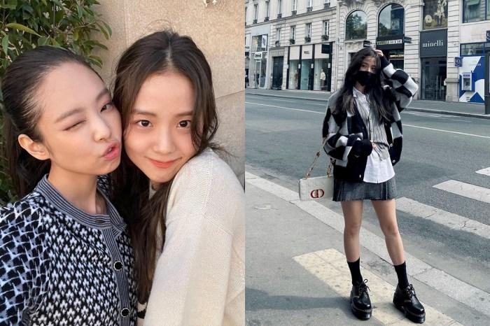 BLACKPINK 出席時裝周,Jennie 與 Jisoo 相約漫步巴黎,身上單品都被粉絲熱搜!