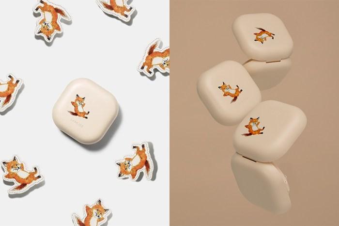 招牌小狐狸現身:Laneige 聯名 Maison Kitsuné 為人氣方盒氣墊推出特別版!