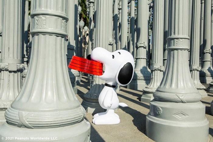 猜猜真實大小 Snoopy 有多高?《Peanuts》特別版雕塑開賣,放在家裡太療癒!