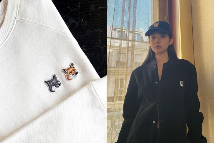 連 Jennie 也愛上,Maison Kitsuné 小狐狸帽、針織衫忍不住放入購物車!