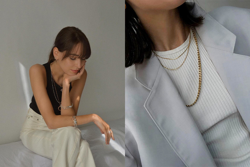 4 tips for layering necklaces