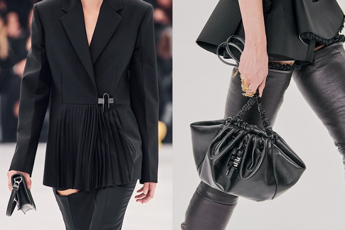 PFW:Givenchy 極簡叛逆 40 年代之美,經典手袋重新詮釋成焦點!