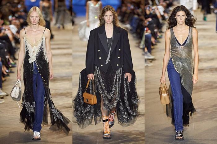 PFW:一名抗議者闖入伸展台,卻讓 Louis Vuitton 大秀當晚更美麗!
