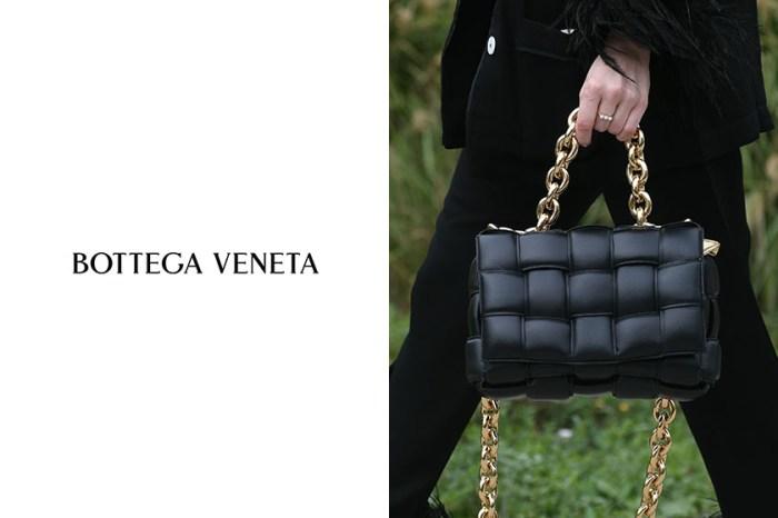 Bottega Veneta 經典 Cassette Bag,換上金屬鍊帶展現強烈美!