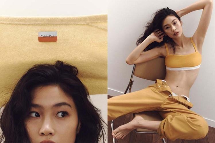 擋不住的人氣:鄭浩妍再登 Calvin Klein 廣告女主角! Instagram 粉絲直迫2300萬!
