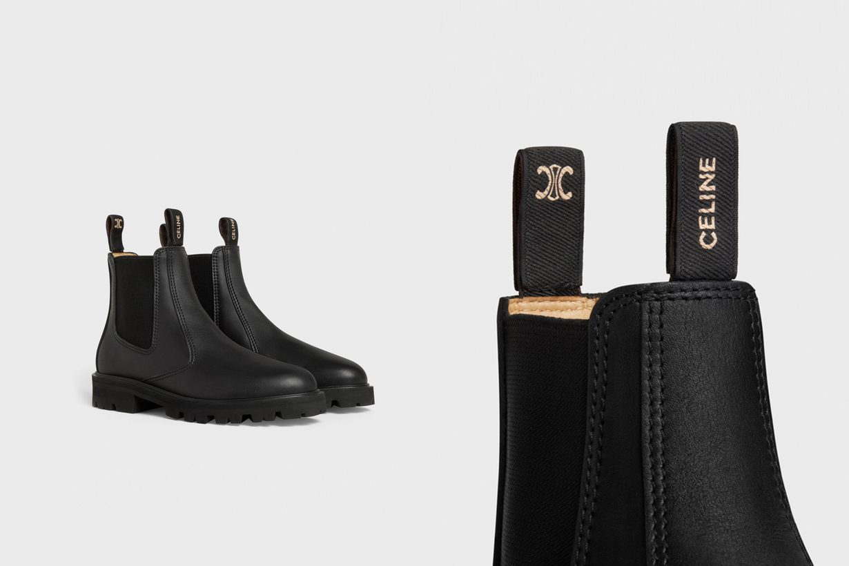 celine Margaret Chelsea boots 2021fw shoes