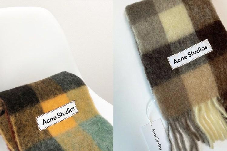 Acne Studios 圍巾到底有多紅?日本女生今年都愛這款!
