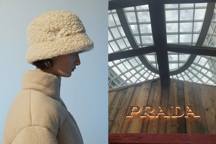 Prada在台北搭了一間小木屋,裡面獨賣哪些秋冬焦點單品?
