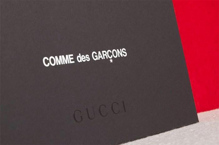 100 週年特別企劃:Gucci X COMME des GARÇONS 新一波聯名即將釋出!