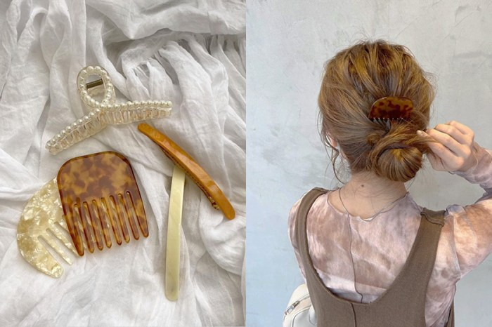 意外可愛:別再鯊魚夾,日本女生本季超愛的髮飾是這款梳子?