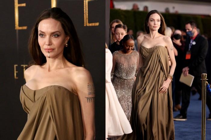 性感與優雅於一身:Angelina 首映上的 Chin Cuff,下一秒就要售罄!