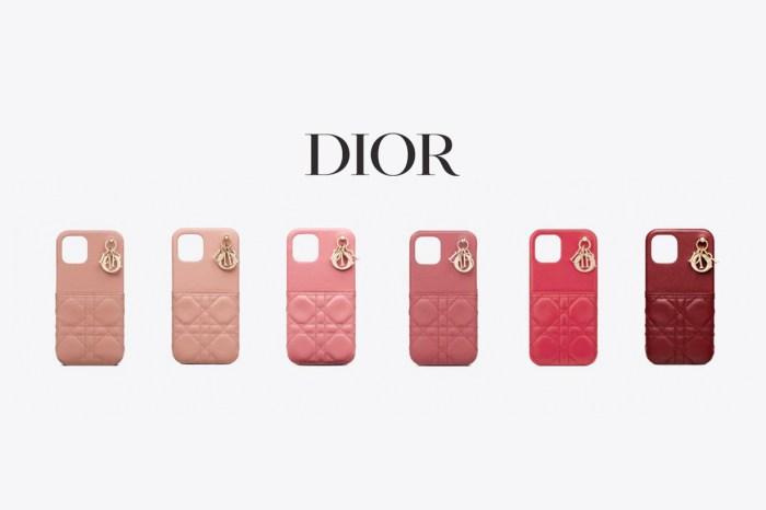 Lady Dior 變成手機殼:2 個細節仙氣滿滿,11 種配色已準備好!