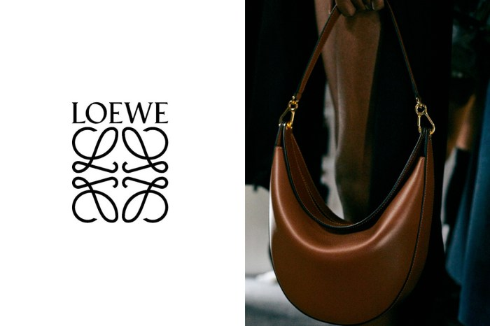 PFW:Loewe 新半月手袋 Luna 蓄勢待發,美得很灑脫!