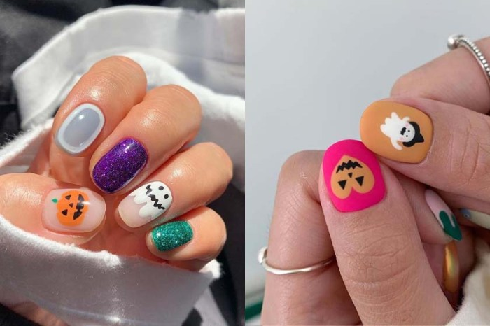 Trick Or Treat?可愛度滿分的韓式 Halloween 彩繪指甲特集 !