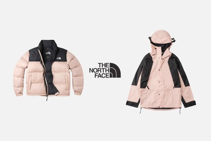 本季斷貨潛力款:The North Face 經典外套,換上低飽和粉色系!