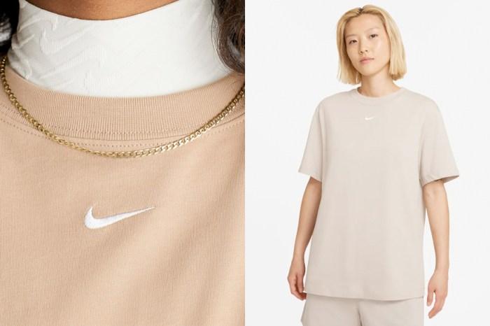 永遠都不嫌多的基本單品,Nike 讓人想包色的寬鬆男友 Tee!