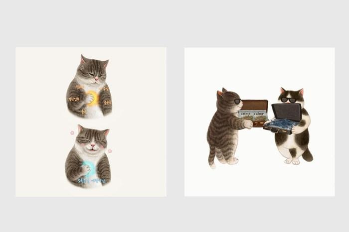 貓奴必看!韓國人氣插畫家 Nyangsongi 首個海外個人展覽《All About Catsssss》