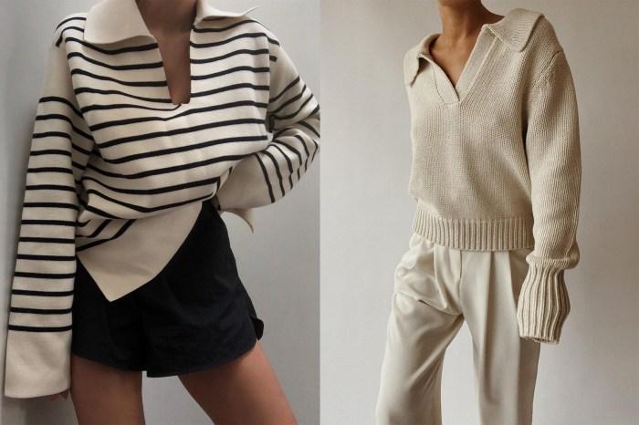 在 IG 上默默洗版:這件基本款上衣流露的慵懶格調,抓住了歐美女生的心!