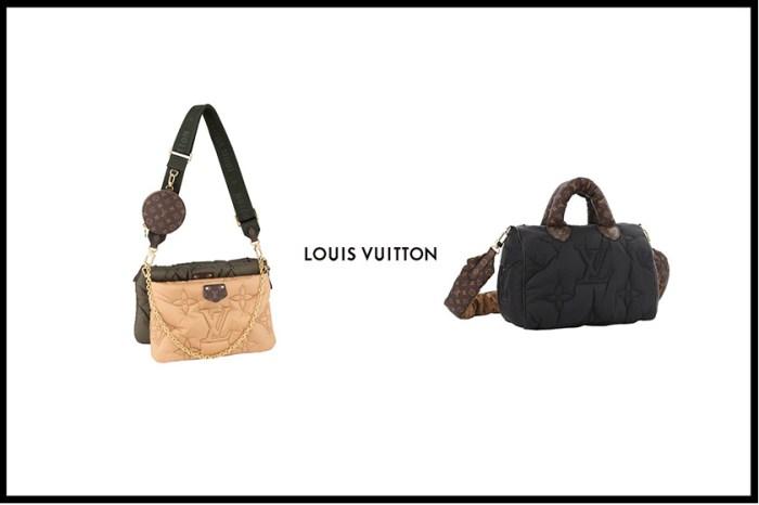 蓬鬆到想躺下來:Louis Vuitton 全新推出枕頭包,新成員惹人喜愛!