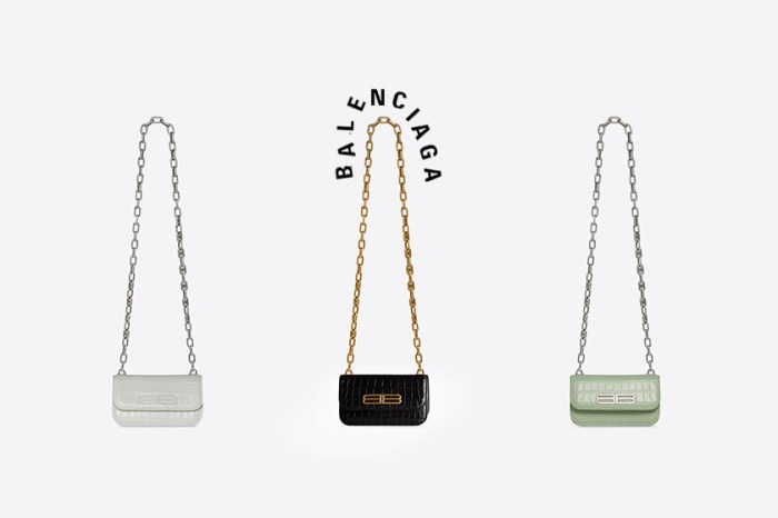 Balenciaga Gossip 手袋新登場,預測將成 2021 秋冬最受寵 It Bag!