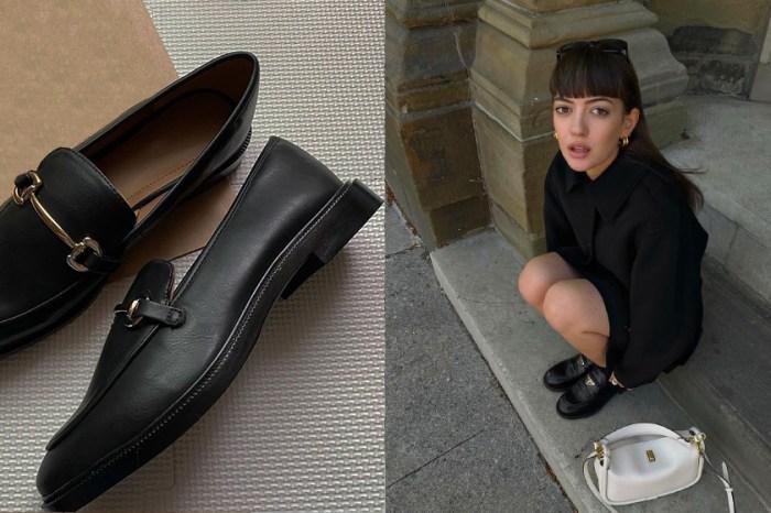 一雙優雅、一雙俐落:H&M 馬銜扣樂福鞋,幹練耐看的秋冬美!