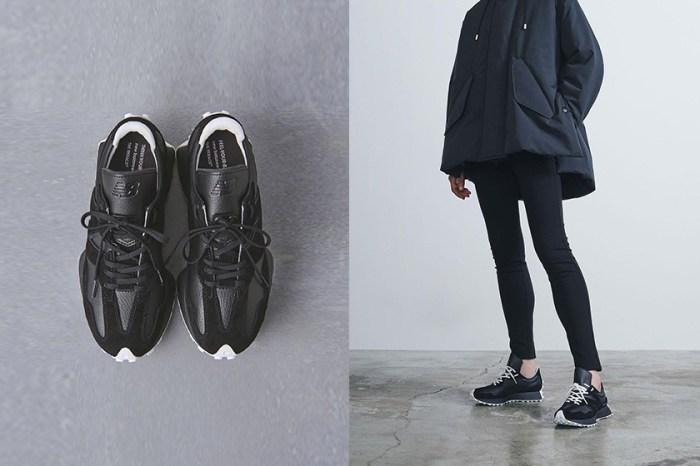 倒數發售:這次是三方聯乘,New Balance327 極簡全黑波鞋!