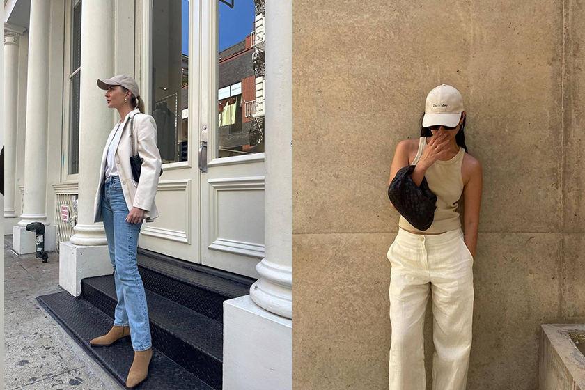 baseball hat outfits 2021fw fashion blogger