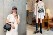 流露時尚的慵懶感:H&M 這款米白高領針織連身裙已被日本女生買光!