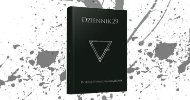 """Trudna sprawa! """"Dziennik 29"""" – recenzja książki interaktywnej"""