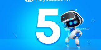 PlayStation VR 5 rocznica