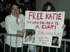 scientology protest on broadway