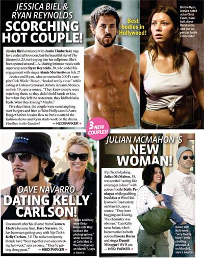Jennifer Lawrence, Blake Lively, Ryan Reynolds, Meg Ryan i Jake.