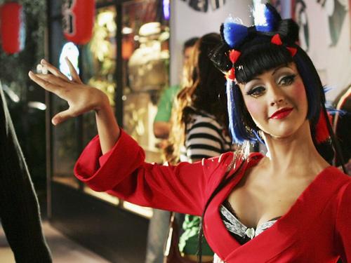 Coca Christina Aguilera Cola