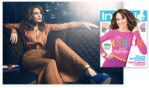 Tina Fey - InStyle Magazine